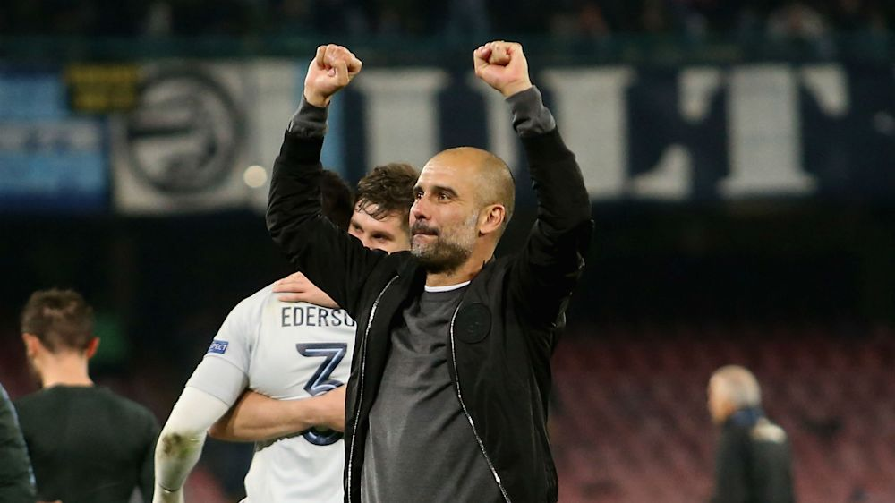 I'm a lucky guy at Manchester City, says Pep Guardiola