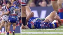 'Nothing wrong with that': Refs clear 'graphic' hit on Kalyn Ponga