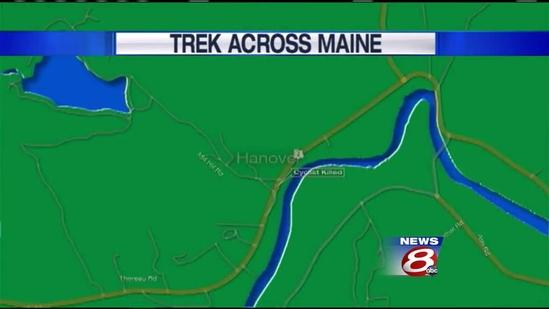 Trek Across Maine bicyclist identified