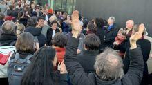 Climate activists dump coal inside Swiss bank UBS