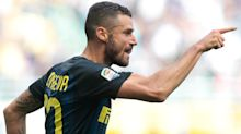 Chelsea target Candreva will stay at Inter, says agent