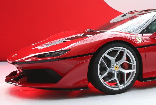 Ferrari j50 might be blueprint for brands future design malvernweather Gallery