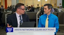 Arista Networks Nears Buy Point