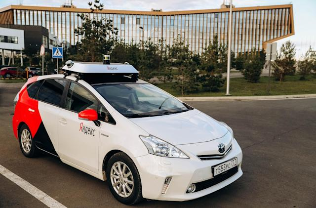 Yandex begins public tests of its self-driving cars in Russia