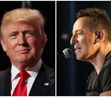 Trump fans play Springsteen's Born in the USA outside hospital without realising what lyrics mean