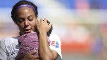 Sydney Leroux says she paid more for child care than she made in salary from Pride