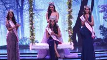 19-Yr-Old Anukreethy From Tamil Nadu Crowned Miss India 2018