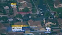 Inglewood shooting: Suspect surrenders; 2 hostages safe