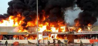 After Beirut blast, massive fire breaks out at UAE's Ajman Market