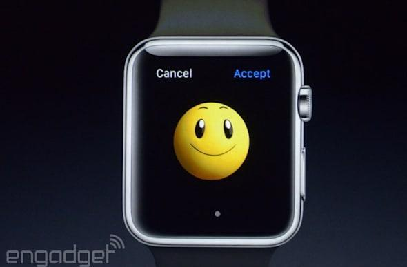 A guy walks into an Apple Store with an Apple Watch