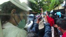 Rhea Chakraborty reaches DRDO office again for CBI interrogation ; Watch Video