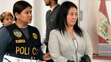 Peru court to decide on long Keiko Fujimori detention