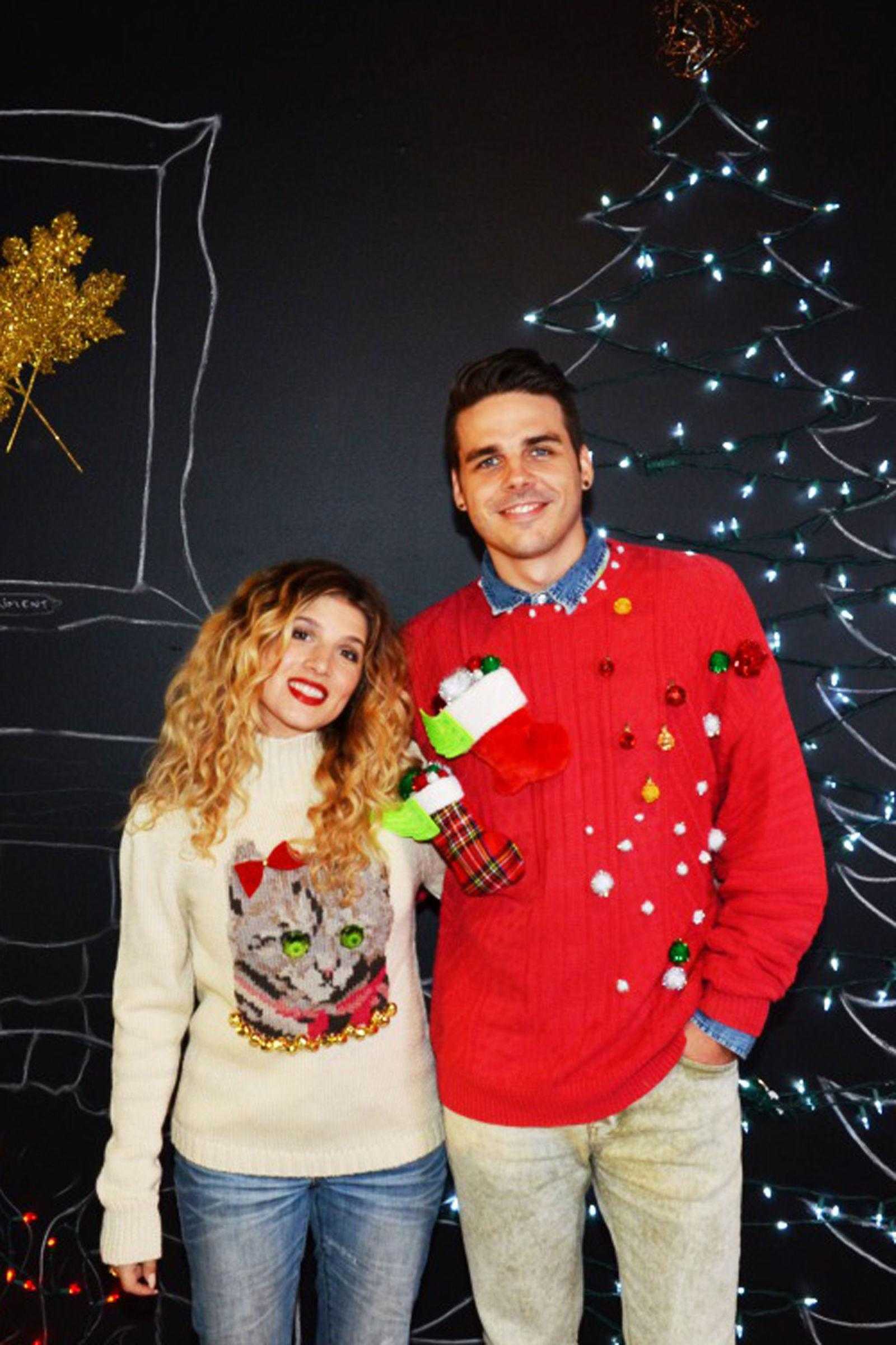 Ugly Christmas Sweater Ideas.These Diy Ugly Christmas Sweater Ideas Will Knock Everyone S