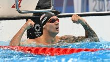 'Terrified' Dressel says he's not chasing Olympic greats