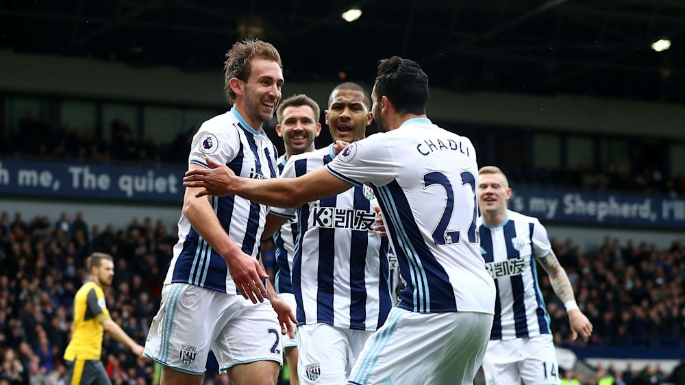 West Brom 3 Arsenal 1: Dawson wings in with double to increase Wenger woe
