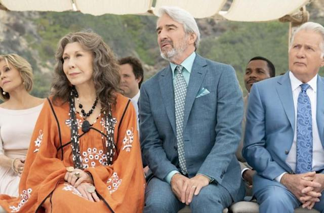 Netflix renews 'Grace and Frankie' for a seventh, 16-episode final season