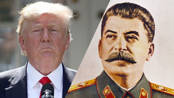 Iannucci: There are echoes of Stalin in Donald Trump (exclusive)