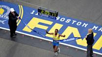 Watch: Lelisa Desisa Wins Men's Boston Marathon
