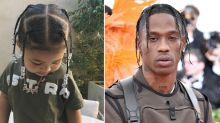 Travis Scott Proudly Raves About 21-Month-Old Daughter Stormi Adorably Rocking 'Daddy's Hair'