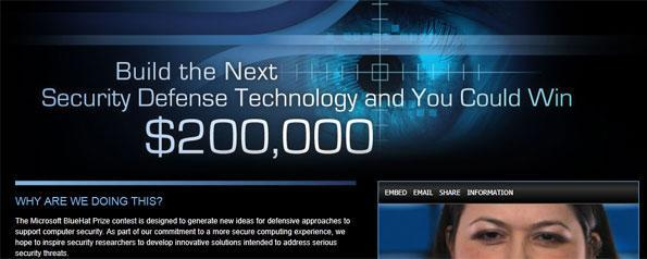 Microsoft offers 'mad loot' Bluehat prize to entice security developers (video)