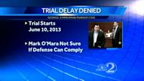 Judge denies George Zimmerman trial delay