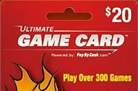 """Majority of buyers use game """"gift cards""""  for themselves"""