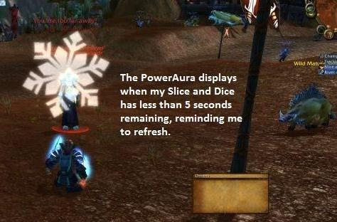 Encrypted Text: Customizing Power Auras for your rogue