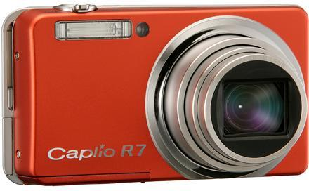 Ricoh Caplio R7: 8.1 megapixel with 7.1x wide zoom