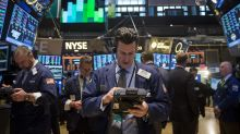 US STOCKS-Wall Street closes up on tech rally despite mixed signs on economic rebound