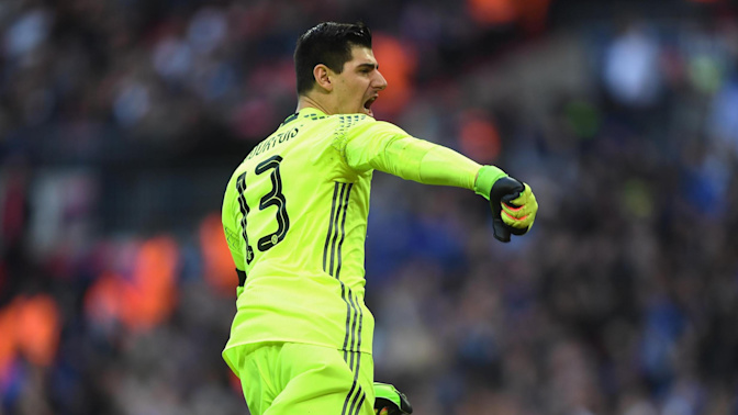 Courtois fires warning shot at Arsenal
