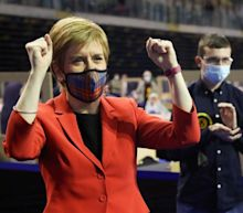 Nicola Sturgeon pledges second independence referendum as she is re-elected in Glasgow Southside