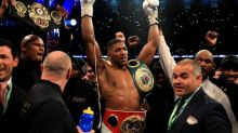 Anthony Joshua defeats Wladimir Klitschko with stunning eleventh round stoppage in world heavyweight title fight