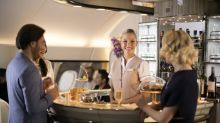 Emirates to turn onboard bar and lounge into flying yacht