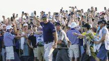 Auch Superstar Brady feiert historischen Golf-Moment