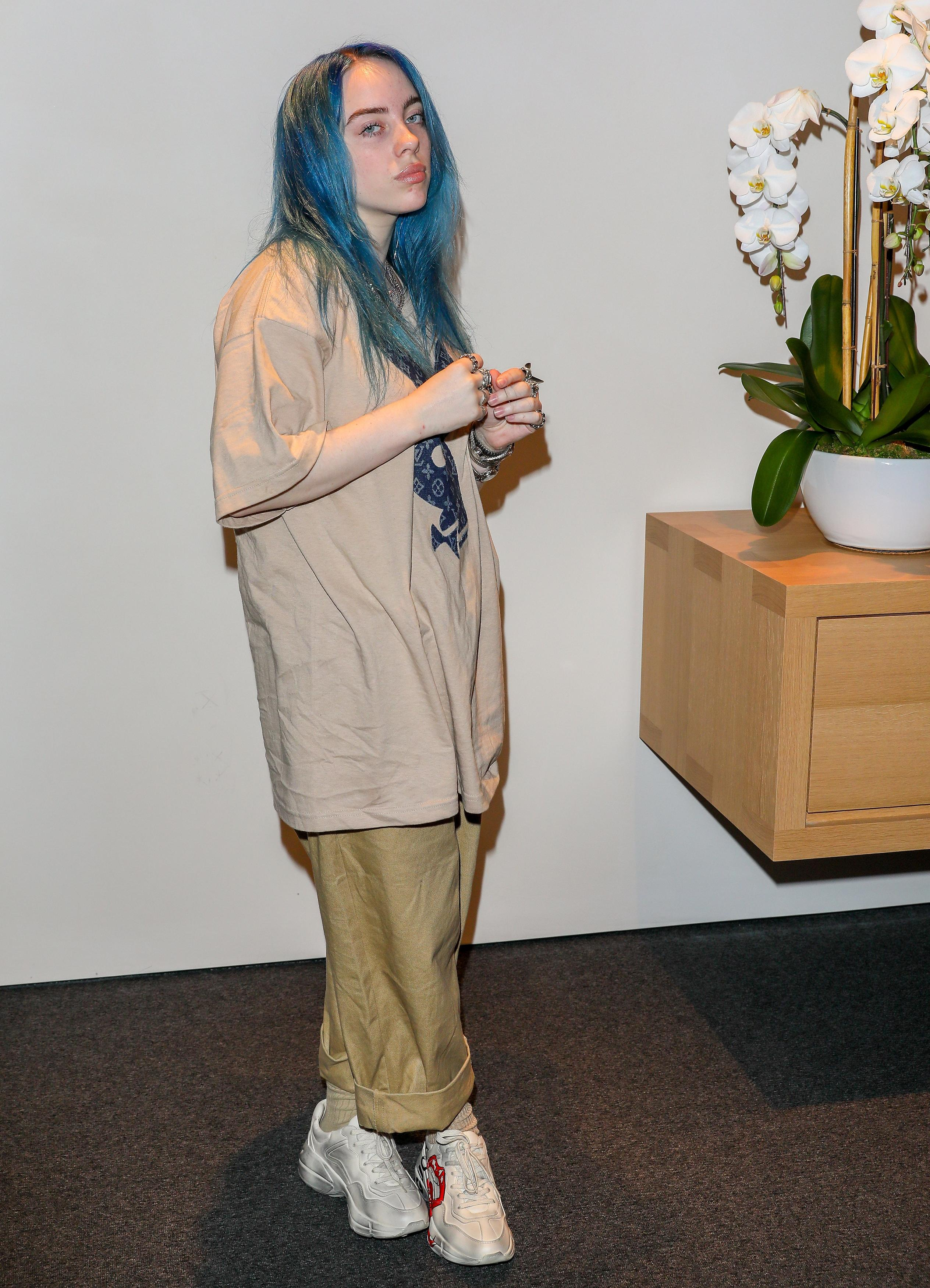 All The Girls Standing In The Line For The Bathroom: 17-year-old Sensation Billie Eilish Smashes Sales