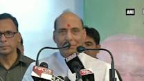 Rajnath Singh addresses rally in Jammu, says his Govt is in action mode (Part-1)