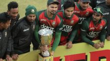 Hossain fires Bangladesh to T20 series win