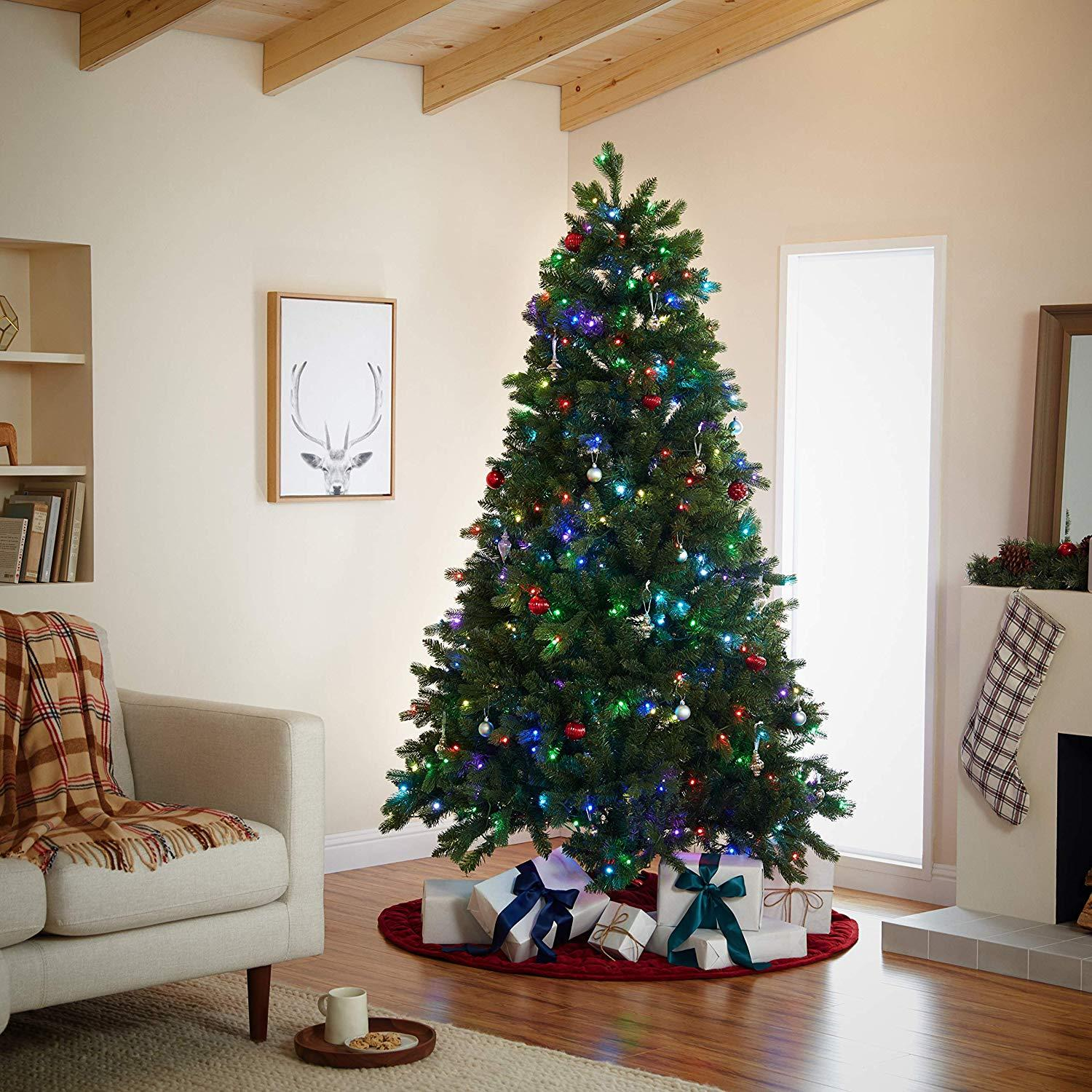 No more untangling wires! This smart Christmas tree works with Alexa for voice-activated holiday cheer