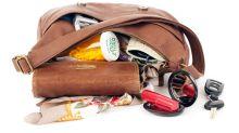 No more messy purses! This clever handbag organizer has over 2,300 near-perfect reviews