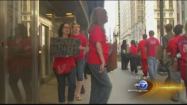 CPS board announces 2014 budget cuts amid protests