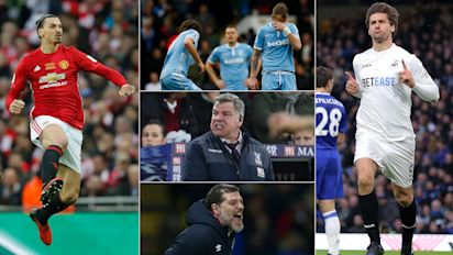 Premier League: eight talking points from this weekend's action