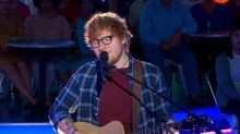 Ed Sheeran rocks out to a special performance of 'Perfect' live on 'GMA'