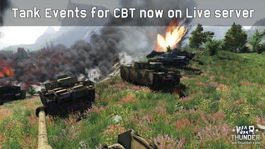 War Thunder introduces closed beta tank events