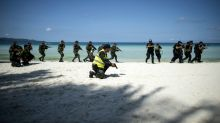 Philippines police hold riot drills as Boracay closure challenged