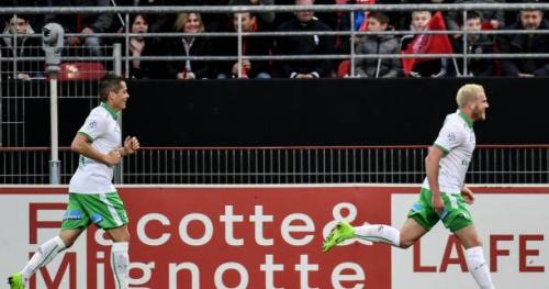 Foot - L1 - 30e j. - Vainqueur à Dijon, Saint-Etienne est à deux points du top 5