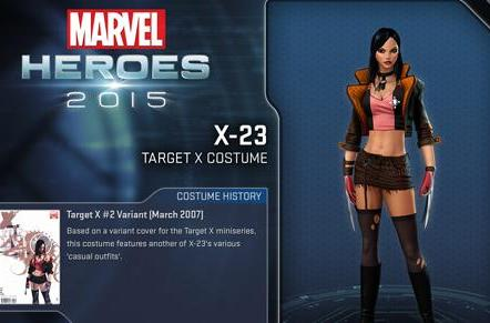 Marvel Heroes now features a female Wolverine