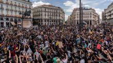 Paradojas de la manifestación irresponsable de 'Black Lives Matter' en Madrid