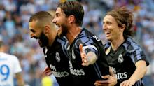Real Madrid wins first La Liga title in five years and Barcelona falls short on season's final day