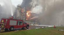 六輕製程異常傳爆炸聲 現場竄火舌濃煙