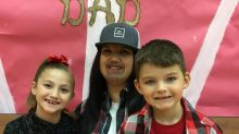 Single mom makes major statement at a school event for dads: 'Don't let people judge you'
